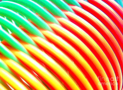 Photograph - Super Slinky by Barry Lamont