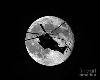 Photograph - Super Stallion Silhouette by Al Powell Photography USA