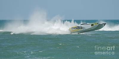 Photograph - Superboats - Broadco  by Bradford Martin