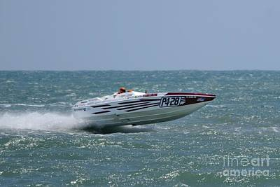 Photograph - Superboats - Knot Crazy by Bradford Martin