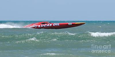 Photograph - Superboats - Lucas Oil by Bradford Martin