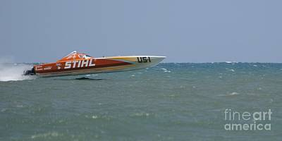 Photograph - Superboats - Stihl 13 by Bradford Martin