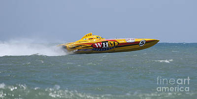 Photograph - Superboats - Whm Motorsports 5 by Bradford Martin