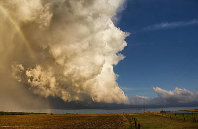 Photograph - Supercell And Rainbow by Jason Persoff Stormdoctor