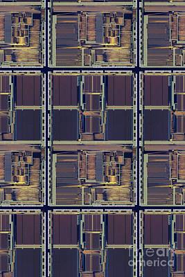 Supercomputer On A Chip Art Print