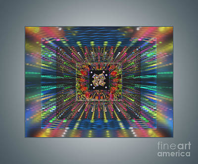 Digital Art - Superconductivity by Ursula Freer