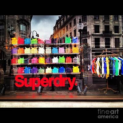 Superdry. Art Print by Carly Athan