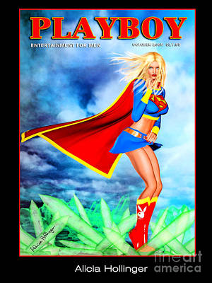 Supergirl 2085 Art Print