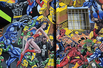 Super Hero Photograph - Superhero Wall Art Albuquerque by Bob Christopher