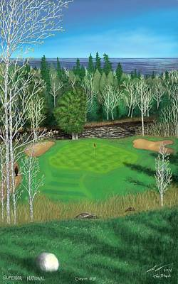 Digital Art - Superior National Golf Canyon 8 by Troy Stapek