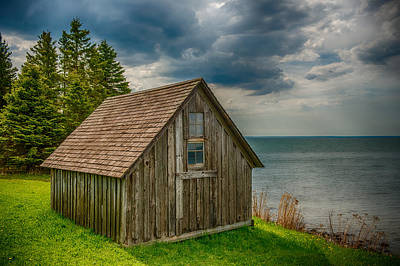 Duluth Photograph - Superior Shack by Paul Freidlund