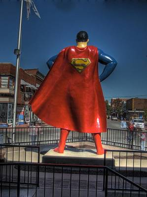 Super Hero Photograph - Superman by Jane Linders