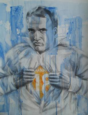 Supermanning Art Print by Joanna Gates
