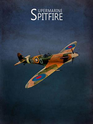 Raf Photograph - Supermarine Spitfire by Mark Rogan