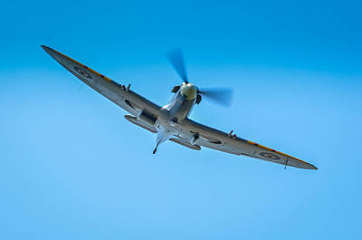 Spitfire Photograph - Supermarine Spitfire Mk.vc  by Puget  Exposure