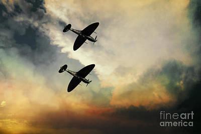 Superhero Ice Pops - Supermarine Spitfires  by Airpower Art