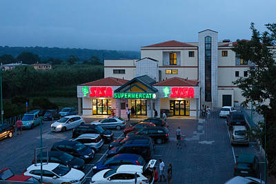 Photograph - Supermarket by Paul Indigo