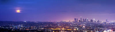 Photograph - Supermoon In Los Angeles by Sungjin Ahn Photography