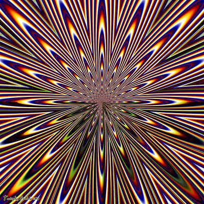 Supernova. 2013  80/80 Cm.  Original by Tautvydas Davainis