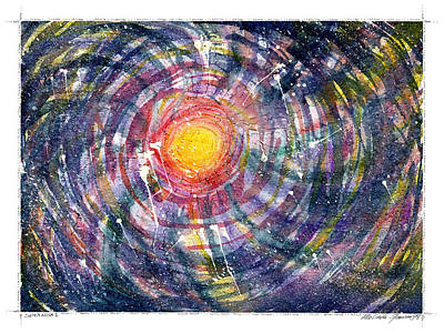 Painting - Supernova by Melinda Fawver