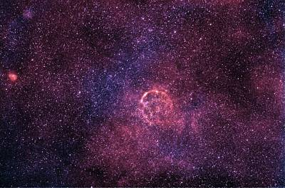 Supernova Remnant Cassiopeia A Art Print