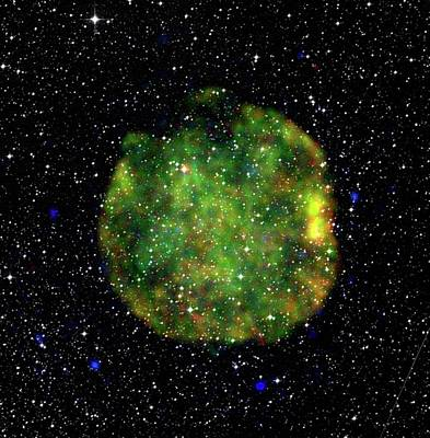 Shockwave Photograph - Supernova Remnant by European Space Agency/xmm-newton