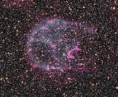 Supernova Remnant N132d Art Print