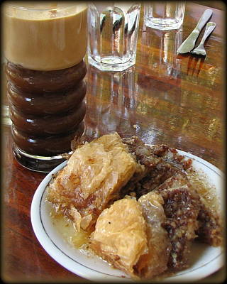 Photograph - Supersized Baklava by Carla Parris