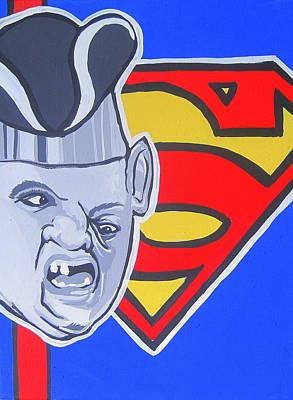 Supersloth Art Print by Gary Niles