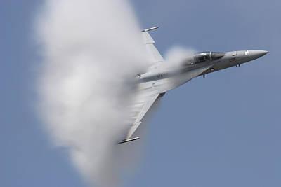 Supersonic Super Hornet Art Print by John Clark