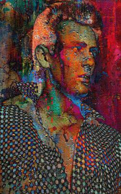 Digital Art - Superstar by Greg Sharpe