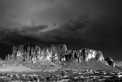 Photograph - Superstition Mountain by Maxwell Amaro