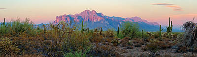 Photograph - Superstition Mountain Panorama by Tam Ryan