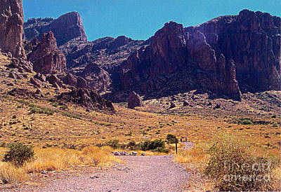 Photograph - Superstition Springs Trail by Stanley Morganstein