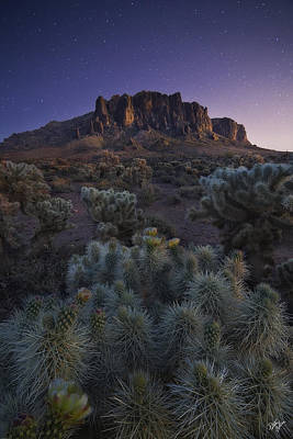 Peter James Nature Photograph - Superstitious Twilight by Peter Coskun