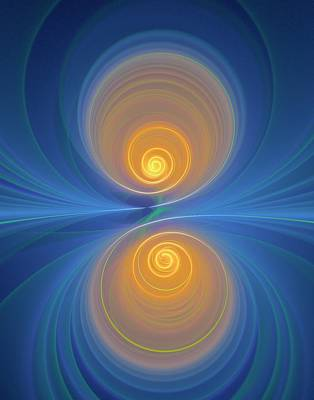Supersymmetry And Or Bipolarity Art Print by David Parker
