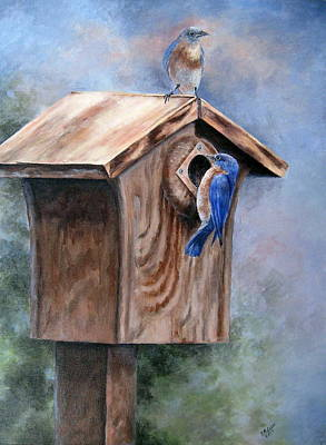 Supervised Feeding Art Print by Mary McCullah