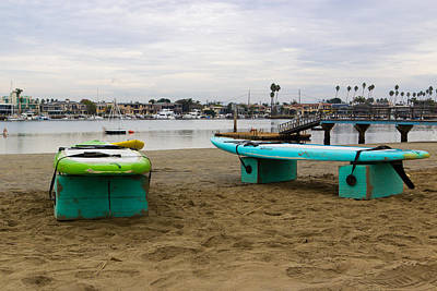 Stand Up Paddle Board Photograph - Suping by Heidi Smith