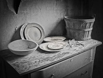 Photograph - Suppers Gone By 2 by EG Kight