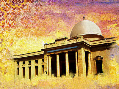 Painting - Supreme Court Karachi by Catf