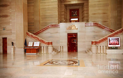 Photograph - Supreme Court Of Canada Lobby by Charline Xia