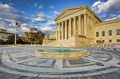 Photograph - Supreme Court Of The United States by Susan Candelario