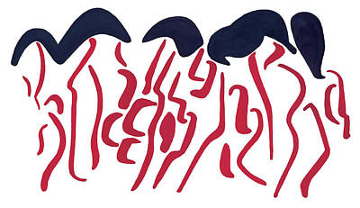 Diana Ross Painting - Supremes by Bjorn Sjogren