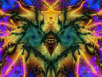 Ostrich Digital Art - Suprised Ostrich by Elizabeth McTaggart