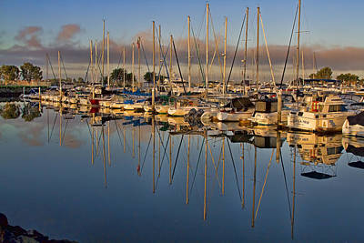 Art Print featuring the photograph Sur La Mer by Gary Holmes