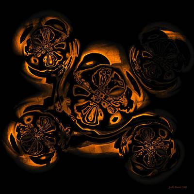 Digital Art - Suranan Artifact by Judi Suni Hall