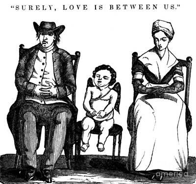 Surely, Love Is Between Us, 1836 Art Print