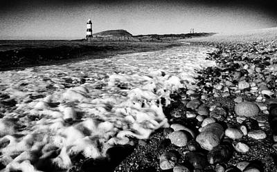 Photograph - Surf At Penmon by Peter OReilly