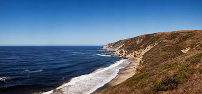Point Reyes National Seashore Photograph - Surf At The Coast, Tomales Point, Point by Panoramic Images