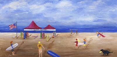 Painting - Surf Camp by Jamie Frier
